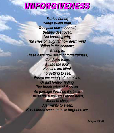 Unforgiveness Poem